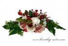 Bouquet mit den Röschen und Beeren