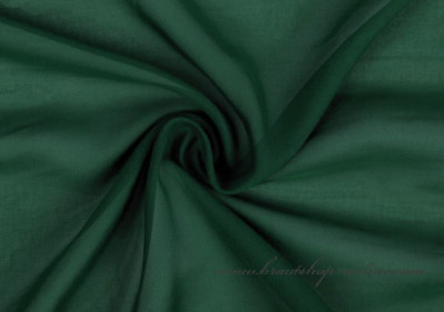 Chiffonstoff in dunkelgrün