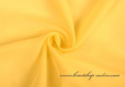 Chiffonstoff in gelb