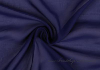 Chiffonstoff in navy blue
