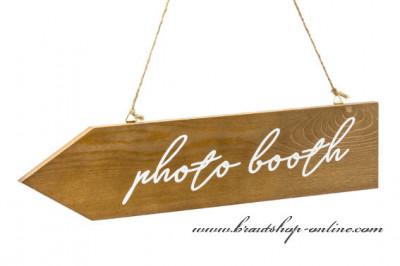 Holzpfeil Photo booth