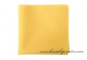 Detail anzeigen - Taschentuch hellgelb matt