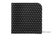 Detail anzeigen - Taschentuch schwarz mit Punkten