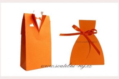 Schachtel Bräutigam in orange