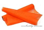 Detail anzeigen - Deko Vlies in orange, 50 cm x 8 m