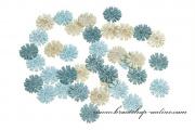 Detail anzeigen - Konfetti aus Holz Blumen