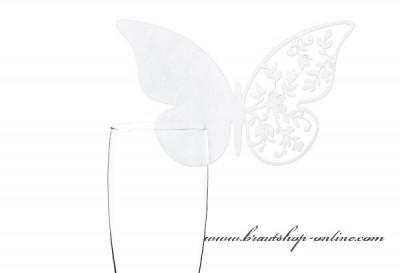 Namensschilder Schmetterling