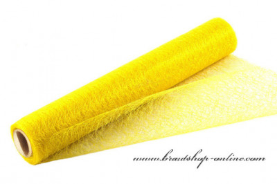 Organzastoff Spider gelb