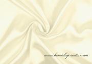 Detail anzeigen - Satinstoff in creme, Breite 150 cm