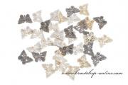 Detail anzeigen - Schmetterlinge aus Holz