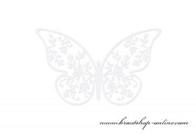 Schmetterlingen aus Papier