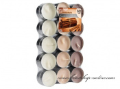 Detail anzeigen - Teekerzen - 30 Stück - Cinnamon