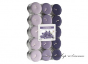 Detail anzeigen - Teekerzen - 30 Stück - Lavender