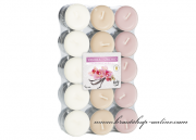 Detail anzeigen - Teekerzen - 30 Stück - Vanilla-Orchid