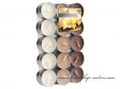 Detail anzeigen - Teekerzen - 30 Stück - Vanilla