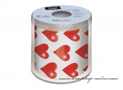 Detail anzeigen - Toilettenpapier mit den Herzen