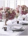 Spitze für Tafeldeko rosa